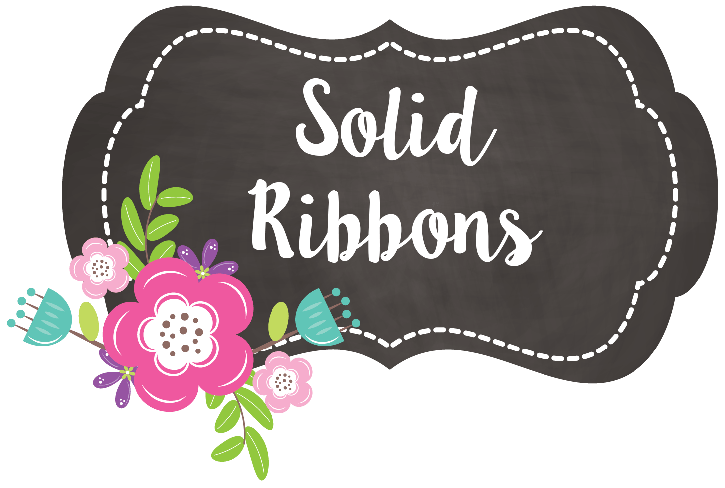 solid ribbons